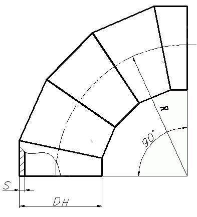 Отвод ОСТ 34-10-752-92