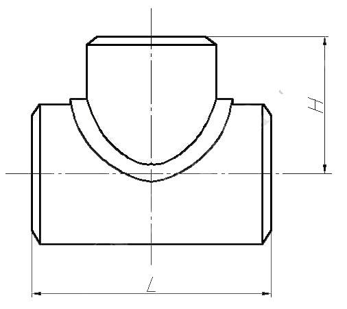 Тройник равнопроходной ТУ 1469-030-39918642-2002